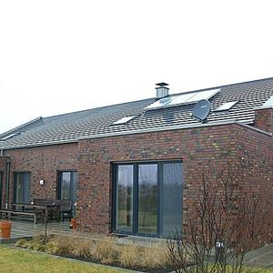 Erstellung eines Einfamilienhauses