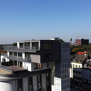 Neubau Wohnungen auf dem Bunkerdach