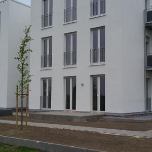 Neubau eines Mehrfamilienhauses mit 10 Wohneinheiten