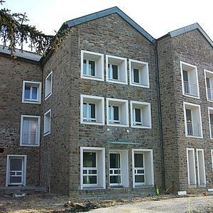 Umbau der Kath. Kirche HI. Dreifaltigkeit in ein Wohnheim mit 24 Wohneinheiten