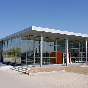 Neubau Infrastrukturgebäude, FH Dortmund
