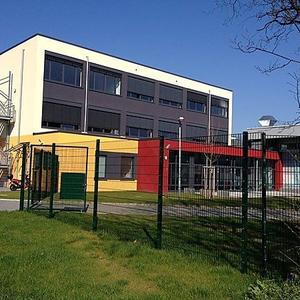 Neubau der Erweiterung Heisenberg Gymnasium, Anbau GTS