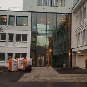 Neugestaltung Eingangsbereich