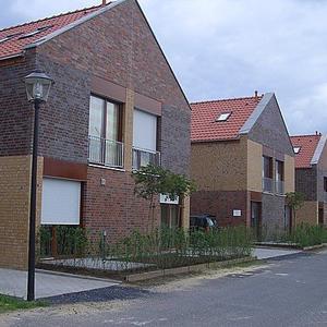 Schlüsselfertige Errichtung von 8 Doppelhaushälfte als Singlehaus