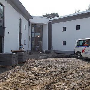 Neubau eines Wohnhauses mit Tagestruktur, für Menschen mit Behinderung