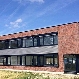 Neubau eines Verwaltungs- und Sozialgebäudes