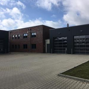 Neubau eines Feuerwehrhauses
