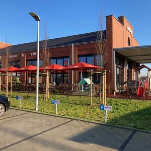 Neubau eines Bäckerei Stores