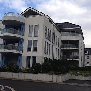 Neubau eines Mehrfamilienhauses mit Penthousewohnung und Tiefgarage