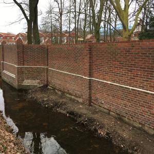 Sanierung der Klostermauer